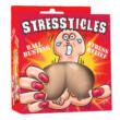 Stressticles - antistresová lopta - semenníky (prírodná farba)