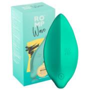 ROMP Wave - nabíjací, vodotesný vibrátor na klitoris (zelený)