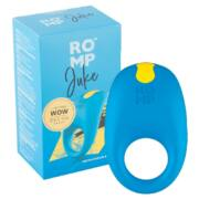ROMP Juke - nabíjací, vodotesný krúžok na penis (modrý)