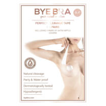 Bye Bra - Perfect Cleavage Tape A-F Nude 3-6 Pairs