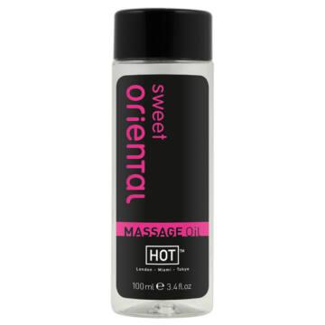 HOT masážny olej - sladký orientálny (100 ml)
