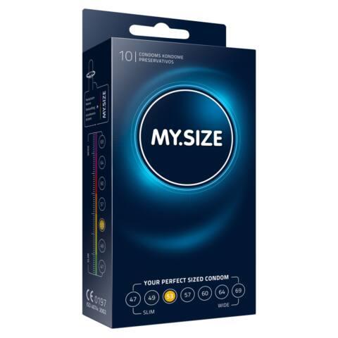 MY SIZE kondómy - 53 mm (10 ks)