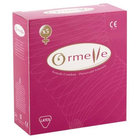 Ormelle Female Condom pack of 5