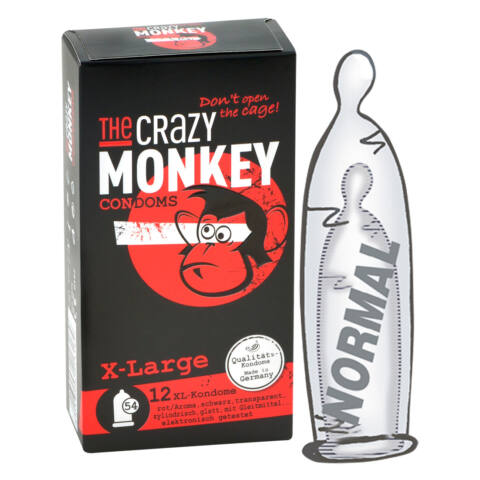 Crazy Monkey X-Large Pack of 12
