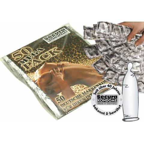 Secura kondómy - priesvitné (50 ks)
