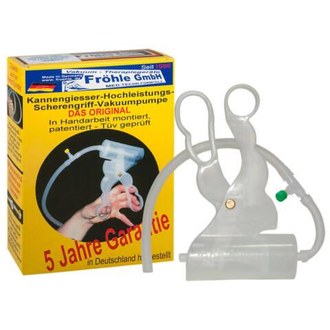 Fr??hle's Scissors-grip Vacuum Pump