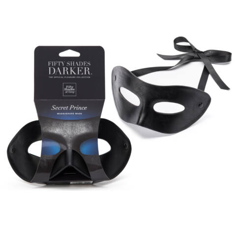 Fifty Shades Of Grey Secret Prince Mask – Christian Grey maska na tvár