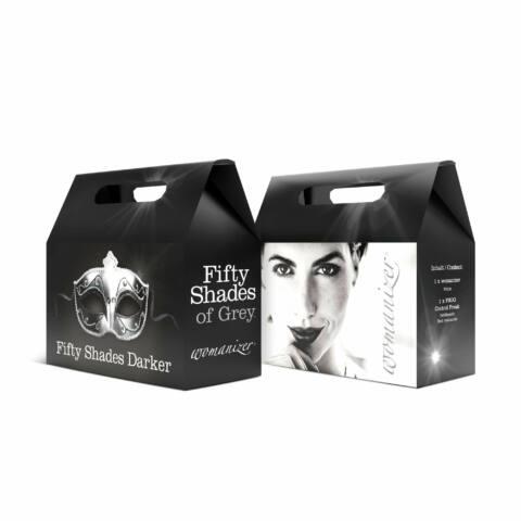 Womanizer Pro (čierny) + Fifty Shades Of Grey Control Freak sada