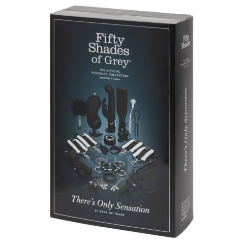Fifty Shades of Grey - luxusný Adventný kalendár (24 dielny)