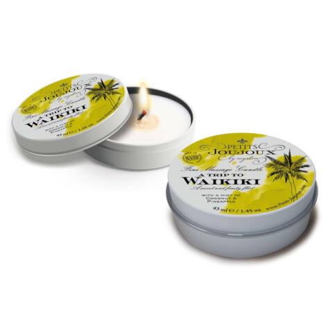 """Massage Candle """"A Trip to Waikiki"""""""