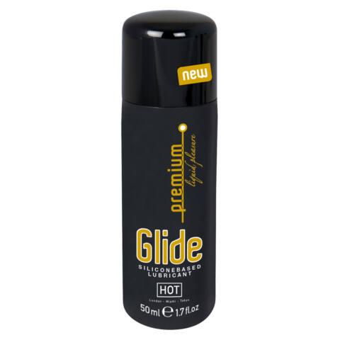 HOT Premium Glide - silikónový lubrikant (50ml)
