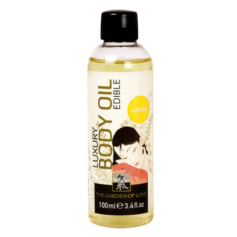 Luxusný masážny olej - 100 ml (vanilka)