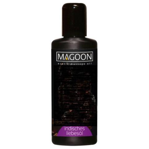 Magoon Indisches Liebes Öl - masážny olej mandľový (200ml)