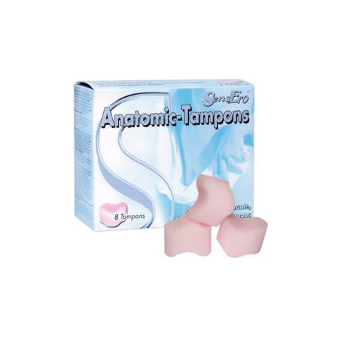 SensEro Anatomic Tampons - anatomické tampóny (8ks)