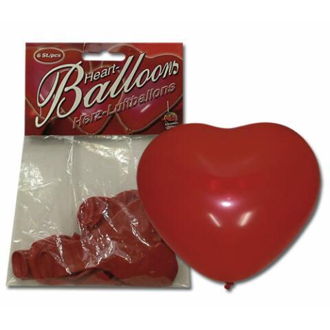 Veľký balón - srdiečko