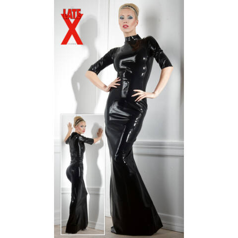 Latexové šaty
