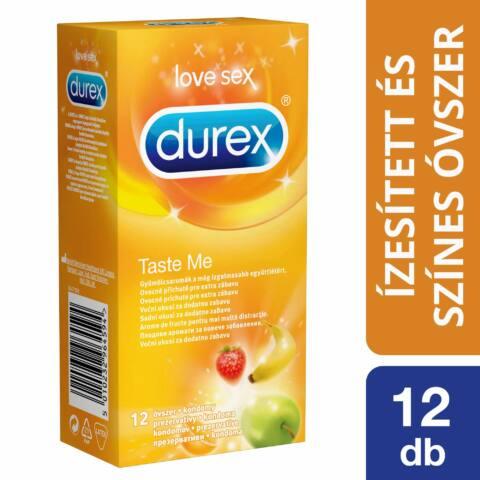 Durex Taste Me - ovocné kondómy (12 ks)