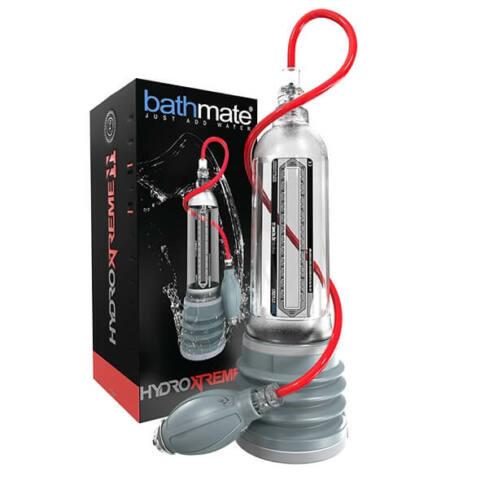BATHMATE - HYDROXTREME11 PENIS PUMP CRYSTAL CLEAR