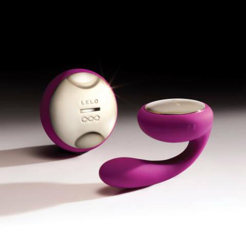 LELO Ida - rotačný párový vibrátor (fialový)
