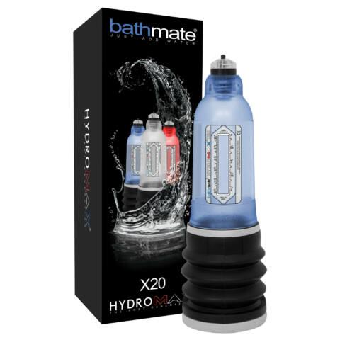 BATHMATE - HYDROMAX PENIS PUMP X20 BLUE