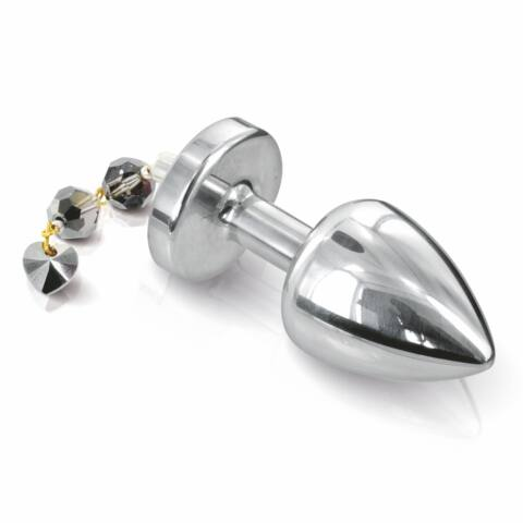 DIOGOL - ANNI BUTT PLUG TORRENT SILVER PLATED 30MM