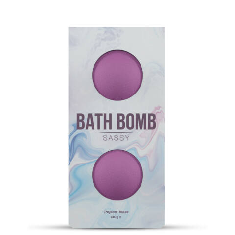 DONA - BATH BOMB SASSY TROPICAL TEASE BATH 140 GRAM
