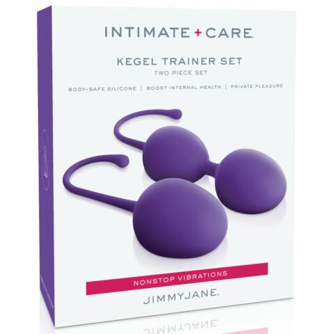 Jimmyjane - Intimate Care Kegel Trainer Set Purple