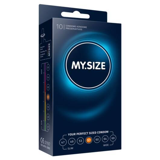 MY SIZE kondómy - 57 mm (10 ks)