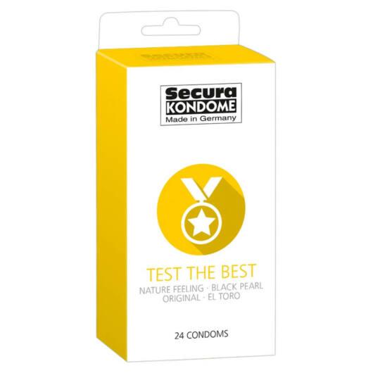 Secura Test the Best - výber kondómovs (24ks)