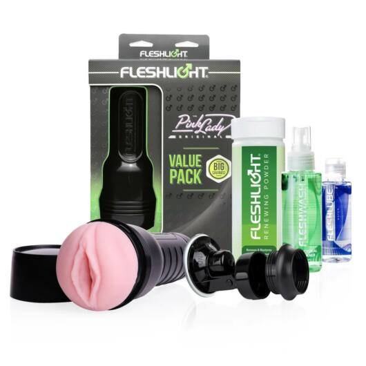 Fleshlight Value Pack Pink Lady - umelá vagína sada(5dielna)