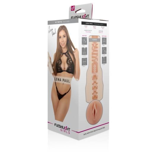 Fleshlight Lena Paul Nymph – realistická vagína