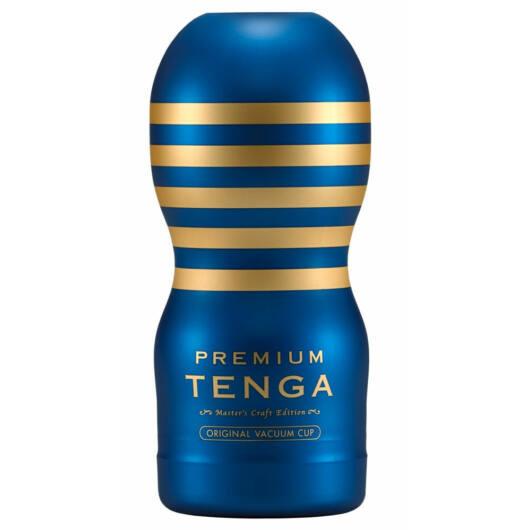 TENGA Premium Original - disposable masturbator (blue)