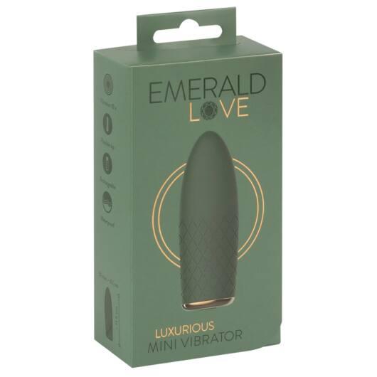 Emerald Love - cordless, waterproof mini vibrator (green)