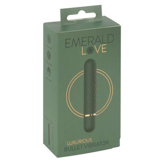 Emerald Love - cordless, waterproof rod vibrator (green)