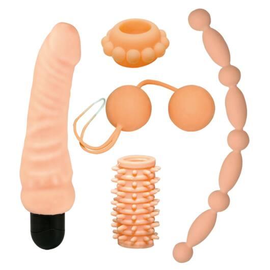 Nature Skin – súprava erotických pomôcok (5 dielna)