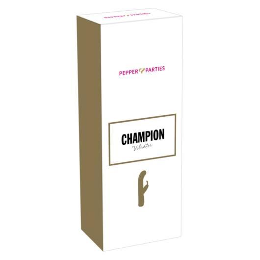 Champion - Garter Point Vibrator (Green)