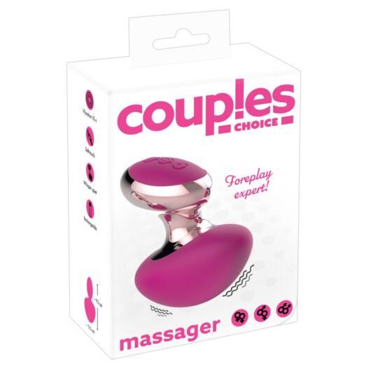 Couples Choice - cordless mini massage vibrator (pink)