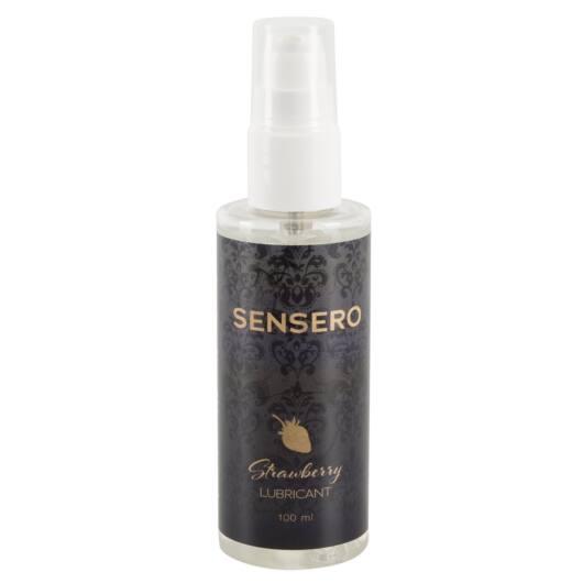 Sensero Strawberry – vegánsky lubrikant na báze vody – vôňa jahôd (100ml)