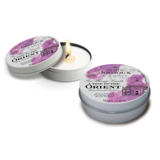 Petits Joujoux Orient - masážna sviečka - 43ml (granátové jablko - biele korenie)