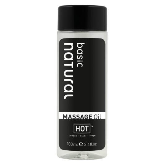 HOT masážny olej - ľahký prírodný (100 ml)