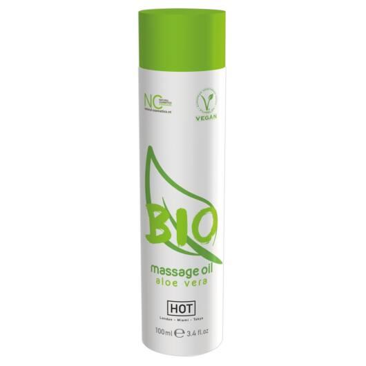 HOT BIO - Vegan Massage Oil - Aloe Vera (100ml)