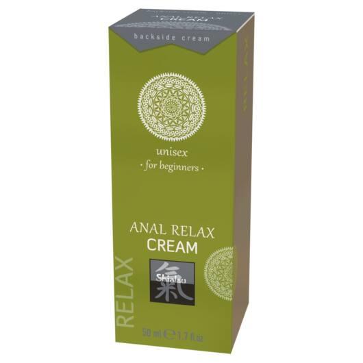 HOT Shiatsu Anal Relax – ukľudňujúci análny lubrikačný krém (50ml)