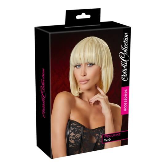 Cottelli – stredne dlhá parochňa s ofinou (blond)
