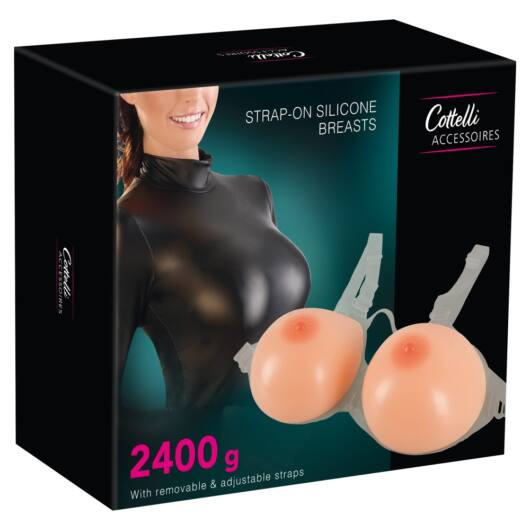 Cottelli - silicone push-up attachable breasts (2 x 1200g)