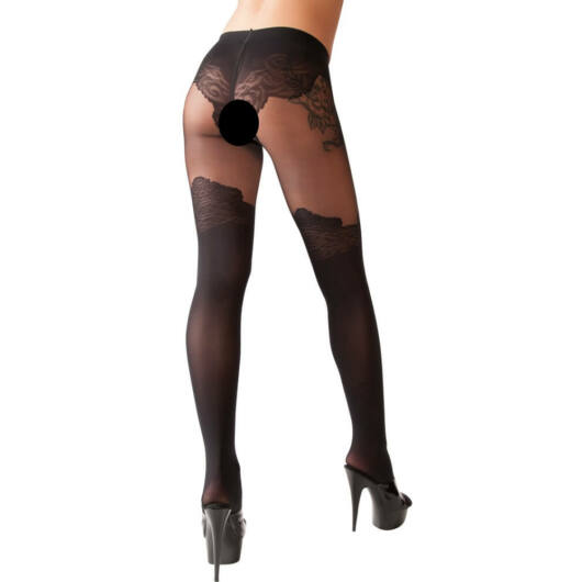 Cottelli - extravagant Tights (black)