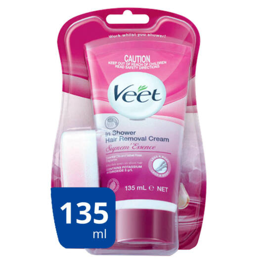 Veet Spa - Hair Removal Cream with Suprem Essence Formula in the Shower (135ml)