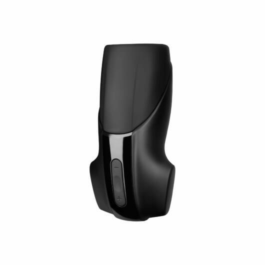 Satisfyer Men - nabíjací, extra silný vibrátor na žaluď (čierny)