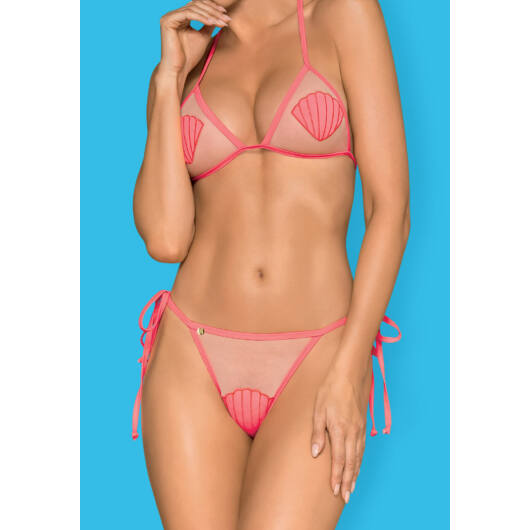 Obsessive Playa del Amor pink bikini