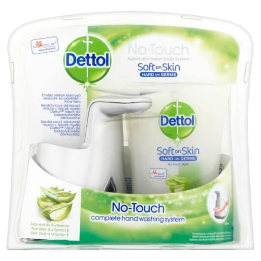 Dettol - no touch hand sanitizer + refill - Aloe Vera (250ml)