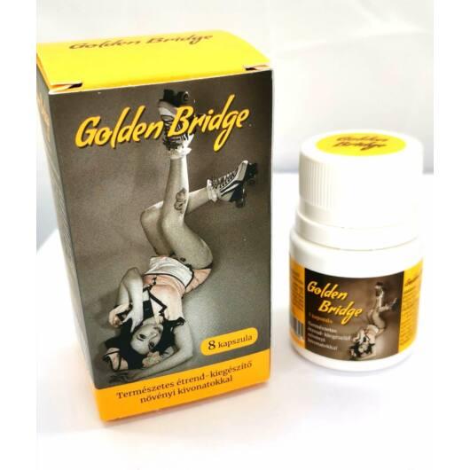 Golden Bridge For Men – prírodný výživový doplnok s rastlinnými výťažkami (8ks)